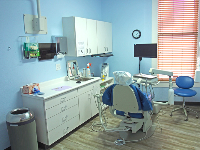 San Antonio Dentists Chair